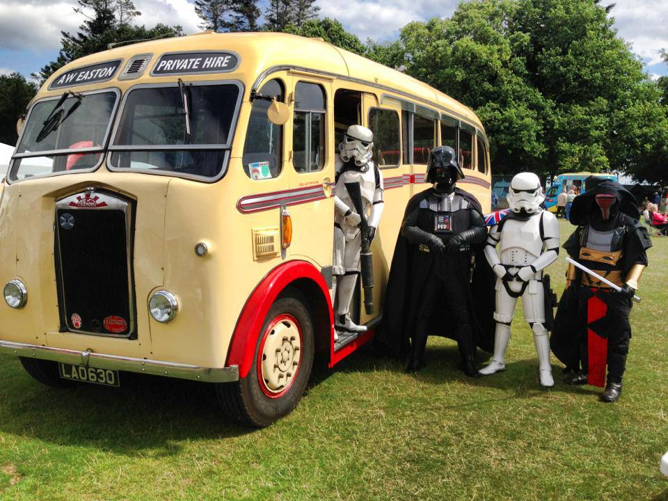 Vintage coach hire for events in Norfolk from Eastons Vintage Coach Hire